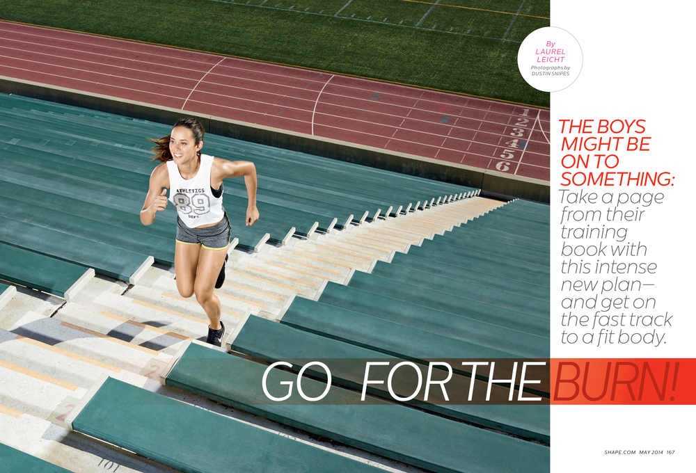 Go For The Burn!, May 2014
