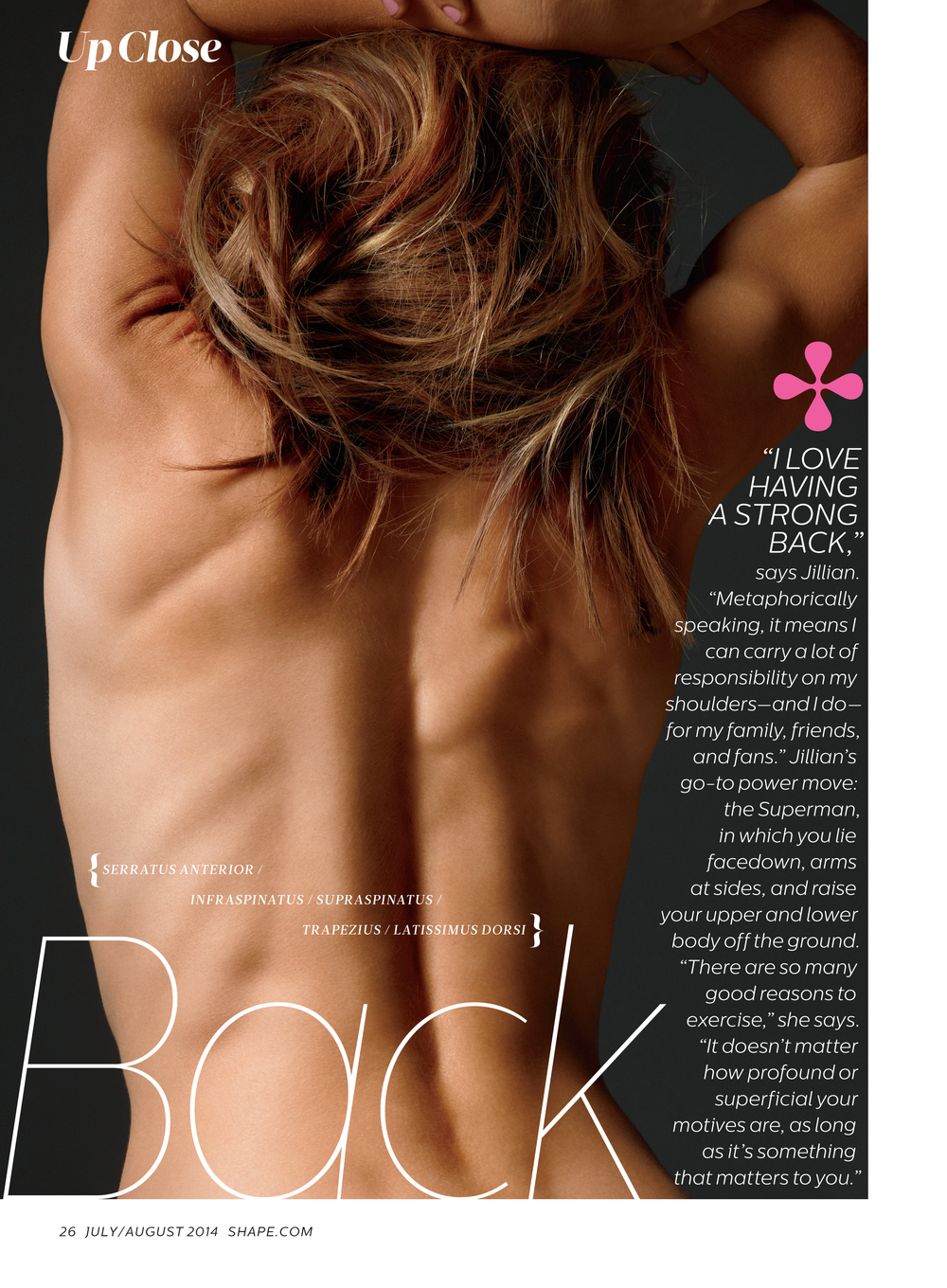 Jillian Michaels, July 2014