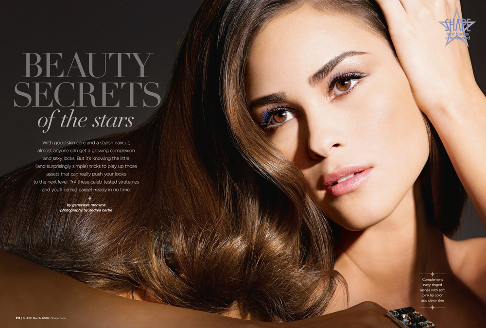 Beauty Secrets of the Stars, March 2008