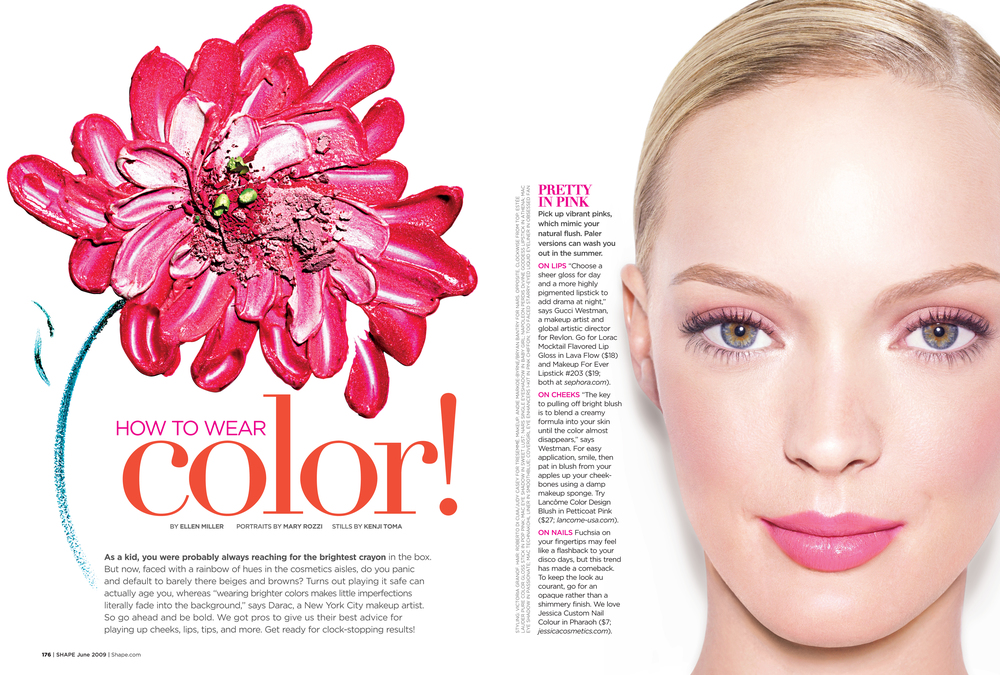 How to Wear Color, June 2009