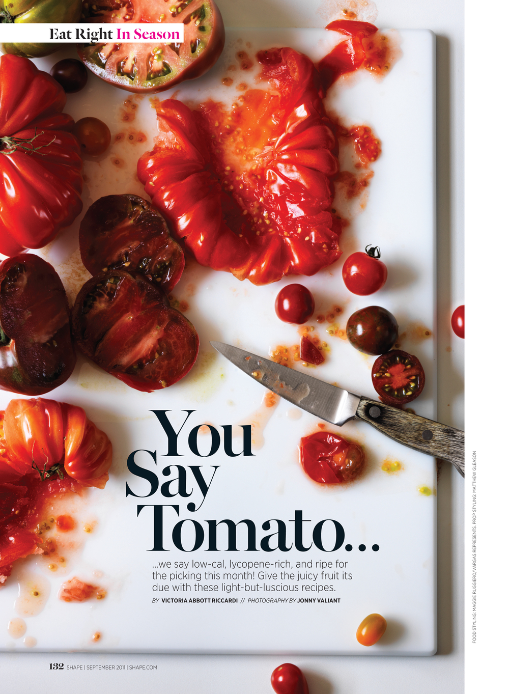 You Say Tomato..., September 2011