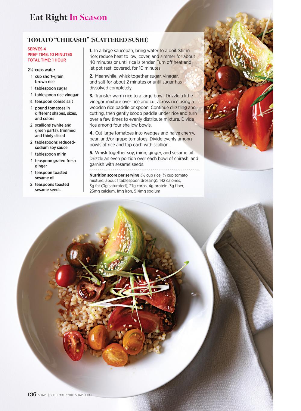 You Say Tomato..., September 2011