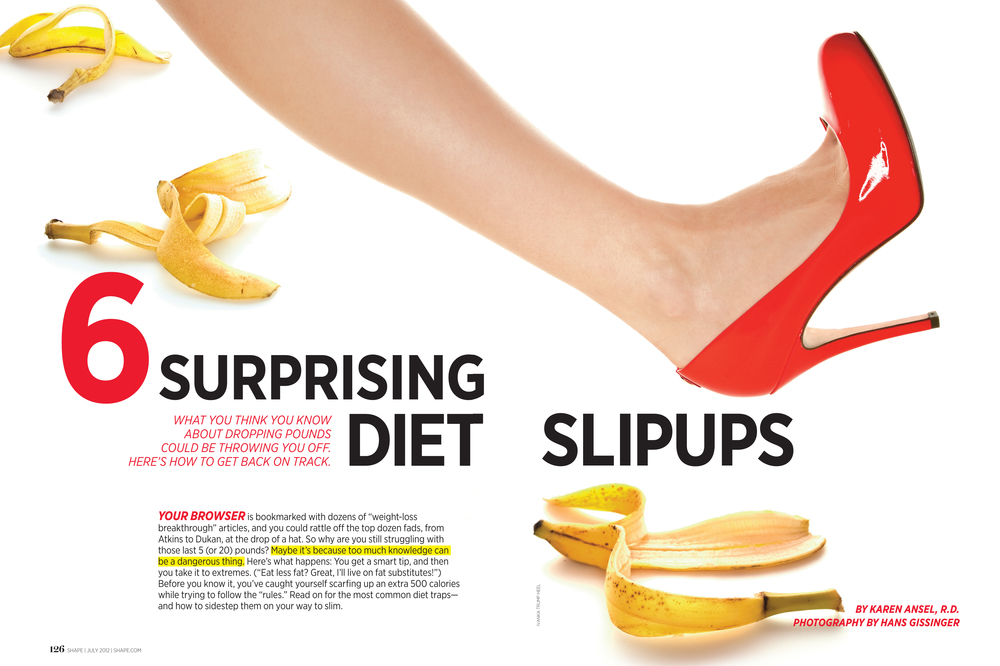 6 Surprising Diet Slipups, July 2012