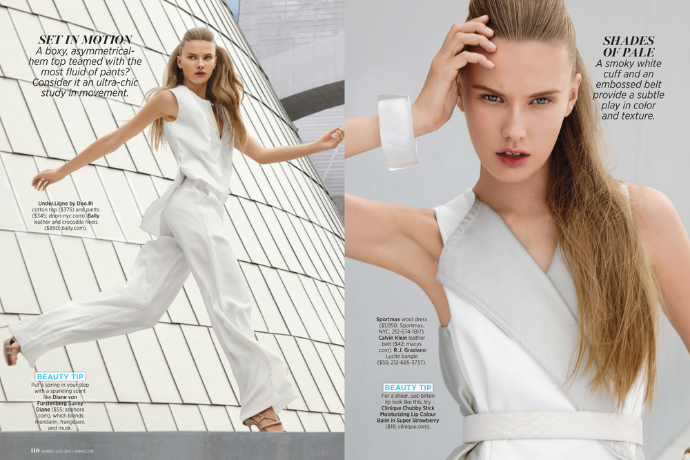Wear White Now!, July 2012
