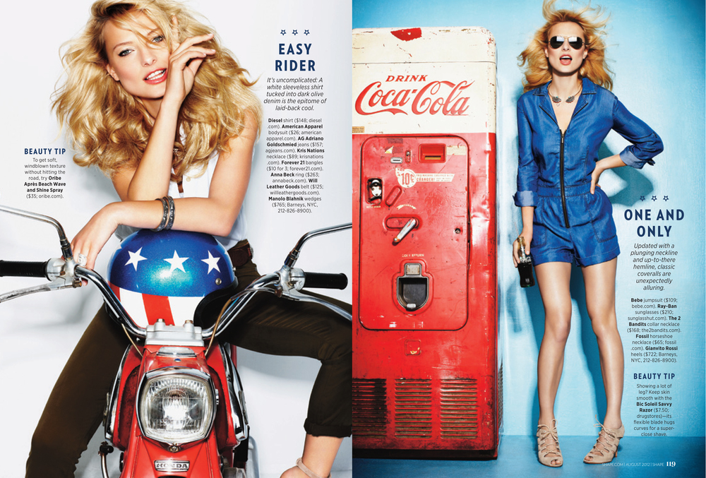 American Woman, August 2012