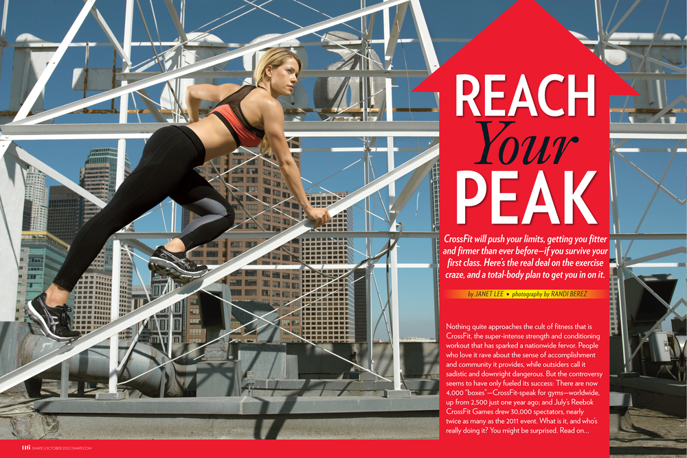 Reach Your Peak, October 2012