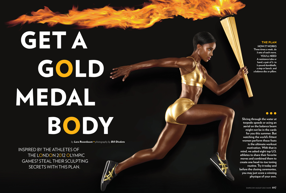 Get A Gold Medal Body, August 2012
