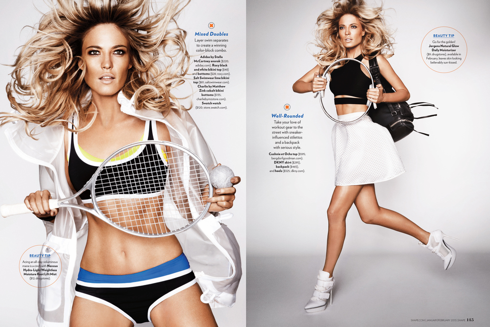 Sporty Chic, January 2013