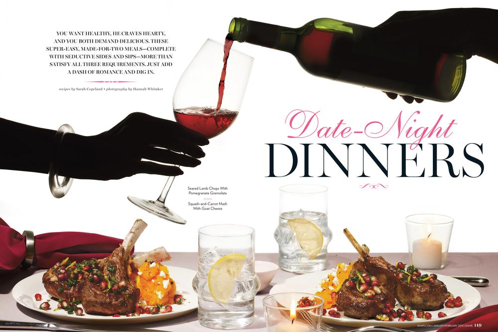 Date Night Dinners, January 2013