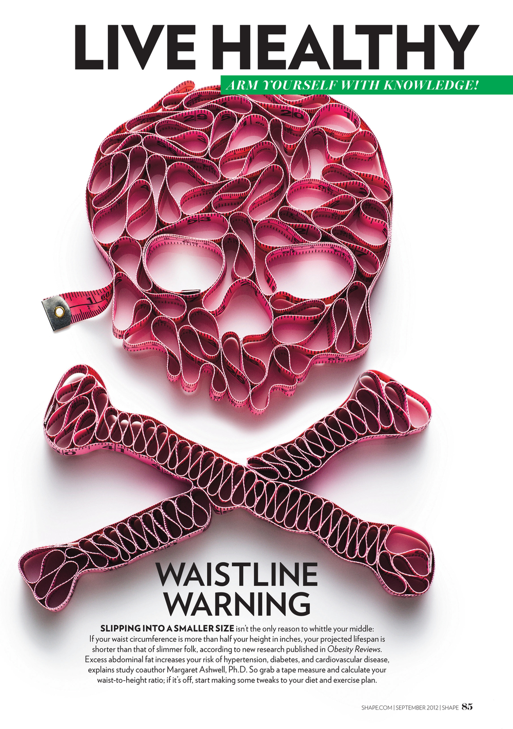 Waistline Warning, September 2012