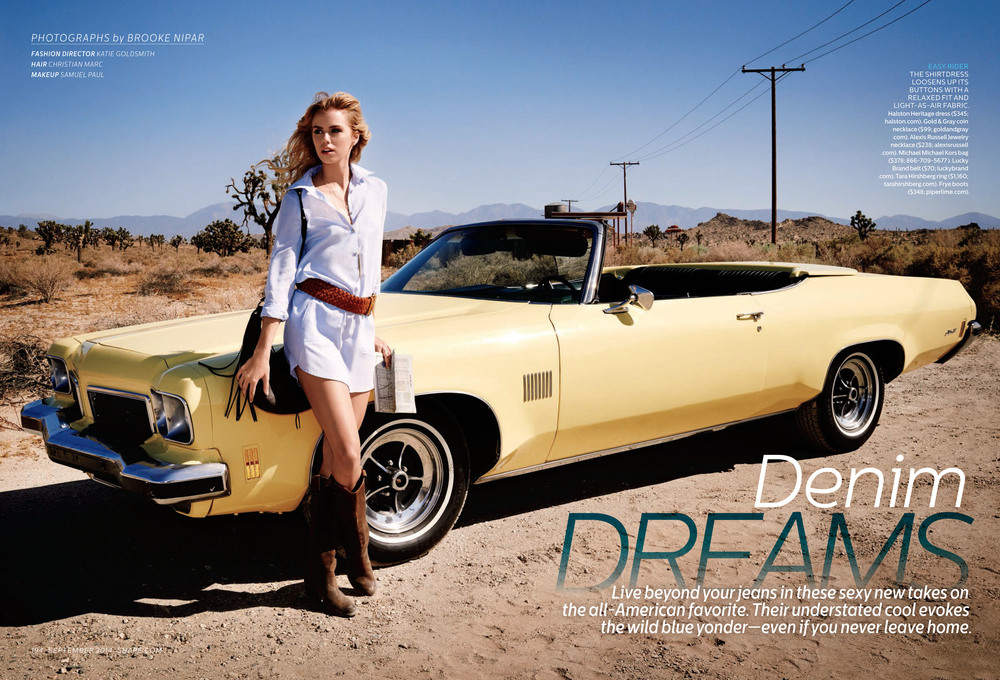 Denim Dreams, September 2014