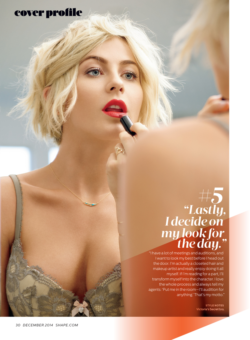 Julianne Hough, December 2014