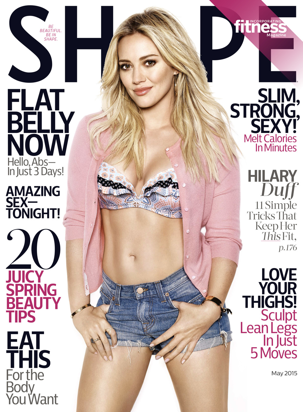 Hilary Duff, May 2015.