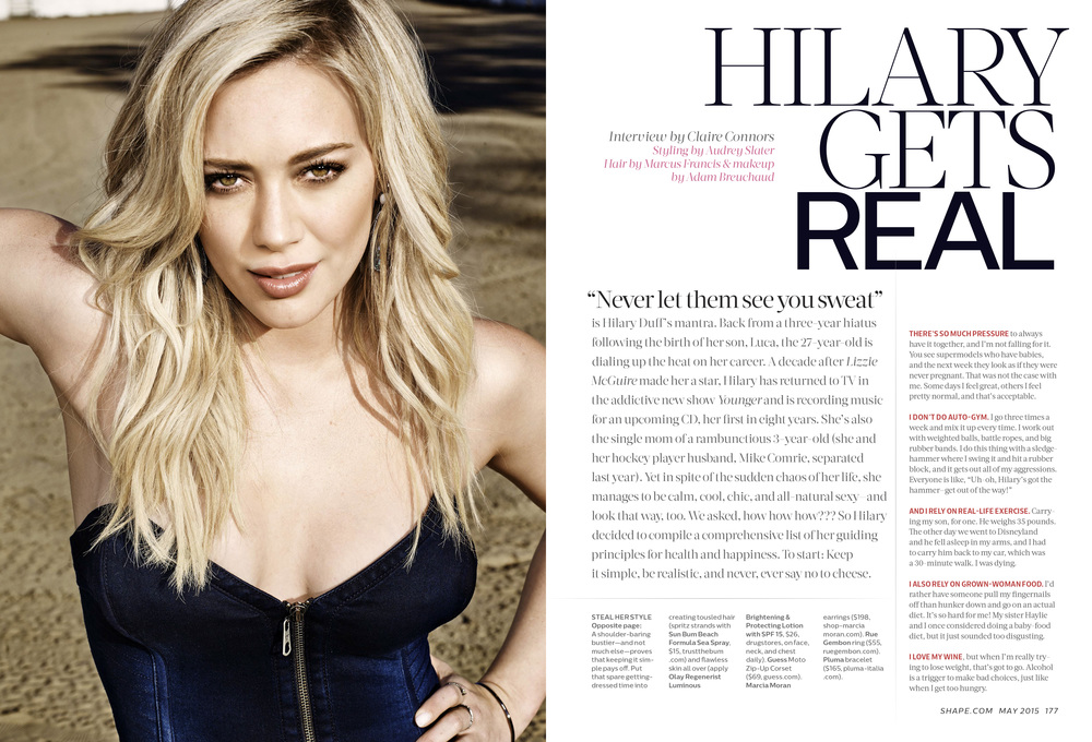 Hilary Duff, May 2015