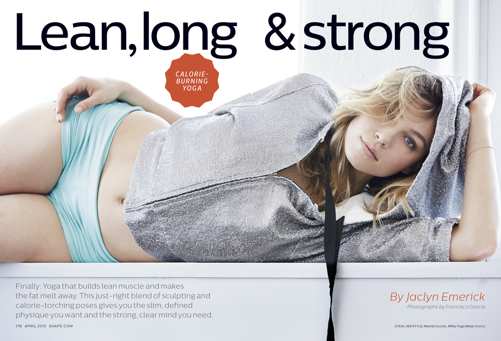 Lean, long & strong, April 2015