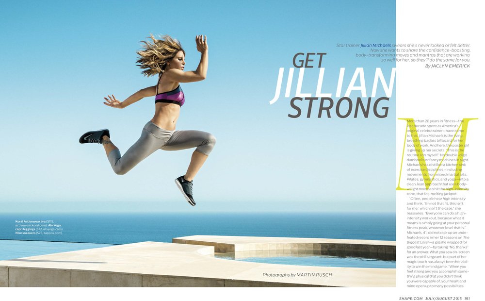Jillian Michaels, July 2015
