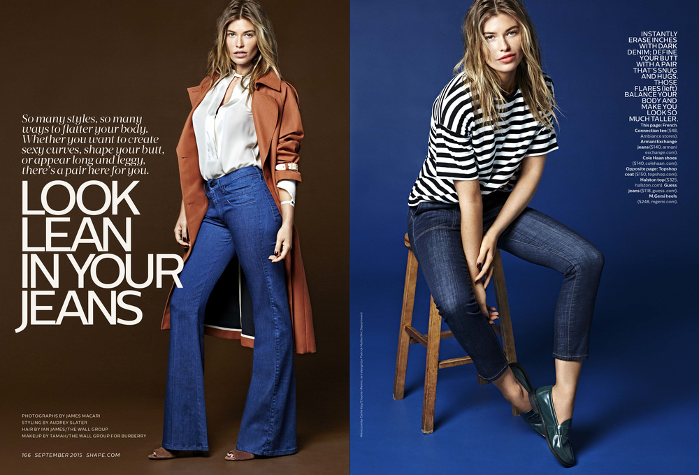 Look Lean In Your Jeans, September 2015