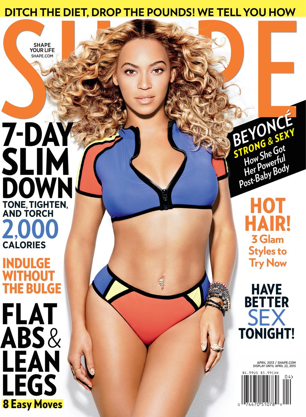 Beyonce, April 2012