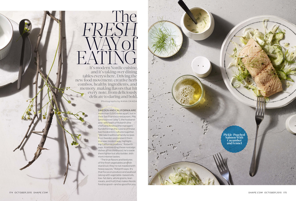 The Fresh Way Of Eating, October 2015