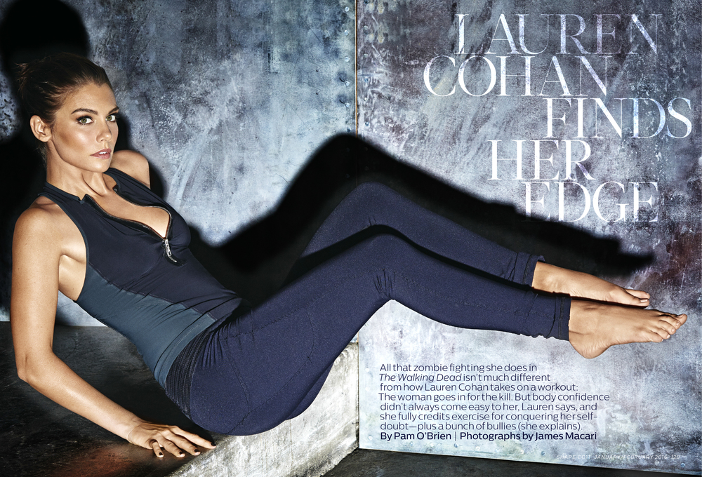 Lauren Cohan Finds Her Edge, January 2016