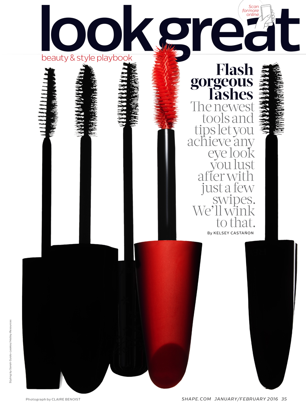 Flash Gorgeous Lashes, January 2016