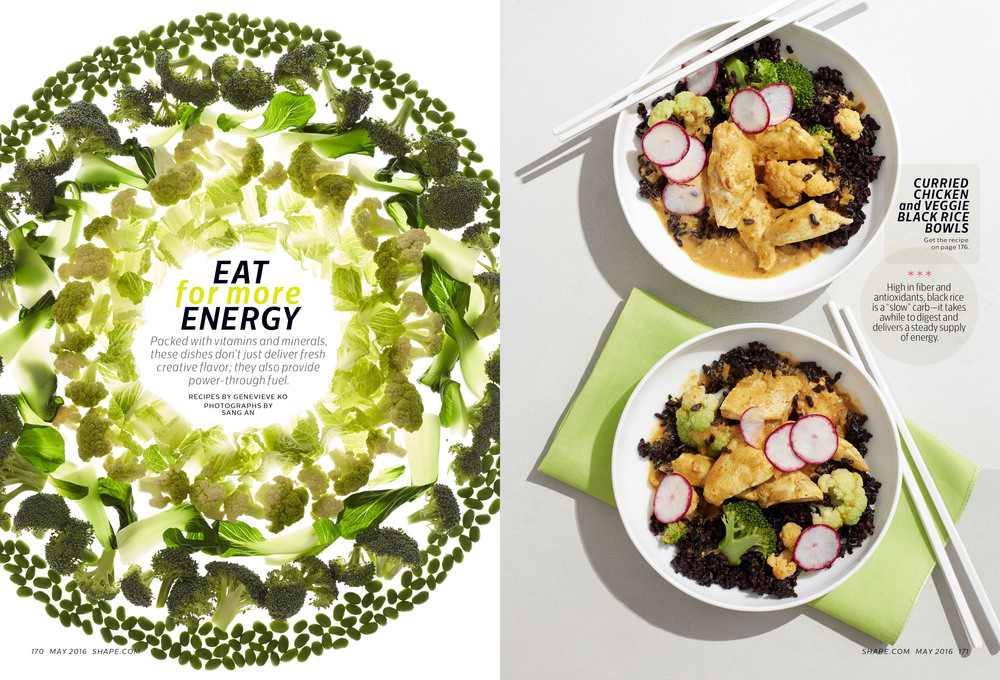 Eat For More Energy, May 2016