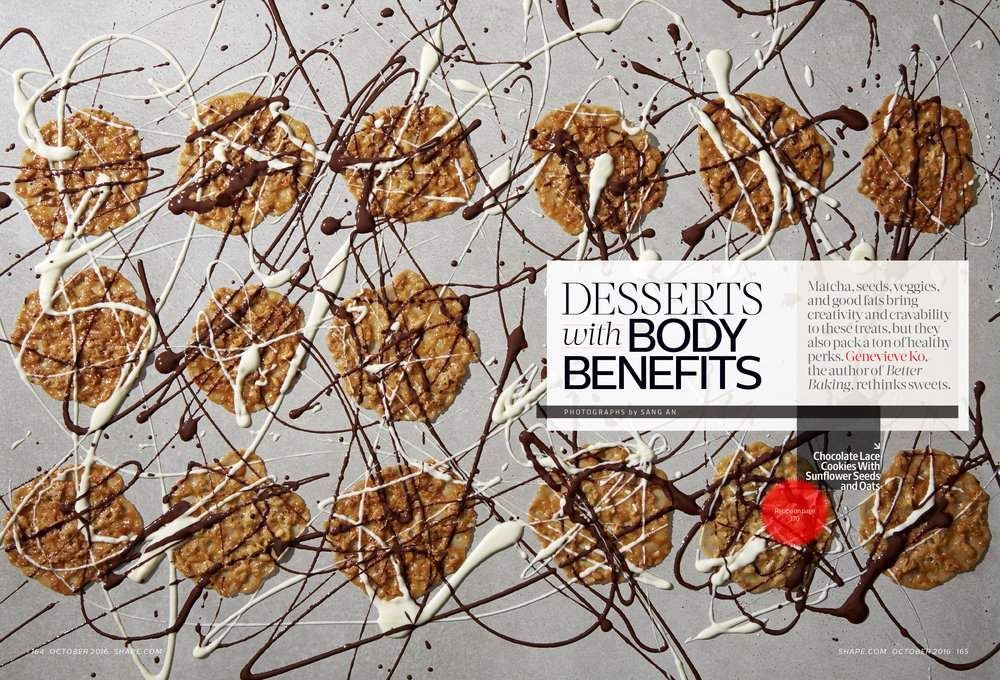 Desserts With Body Benefits, October 2016