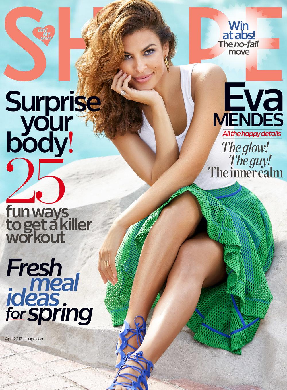 Eva Mendes, April 2017