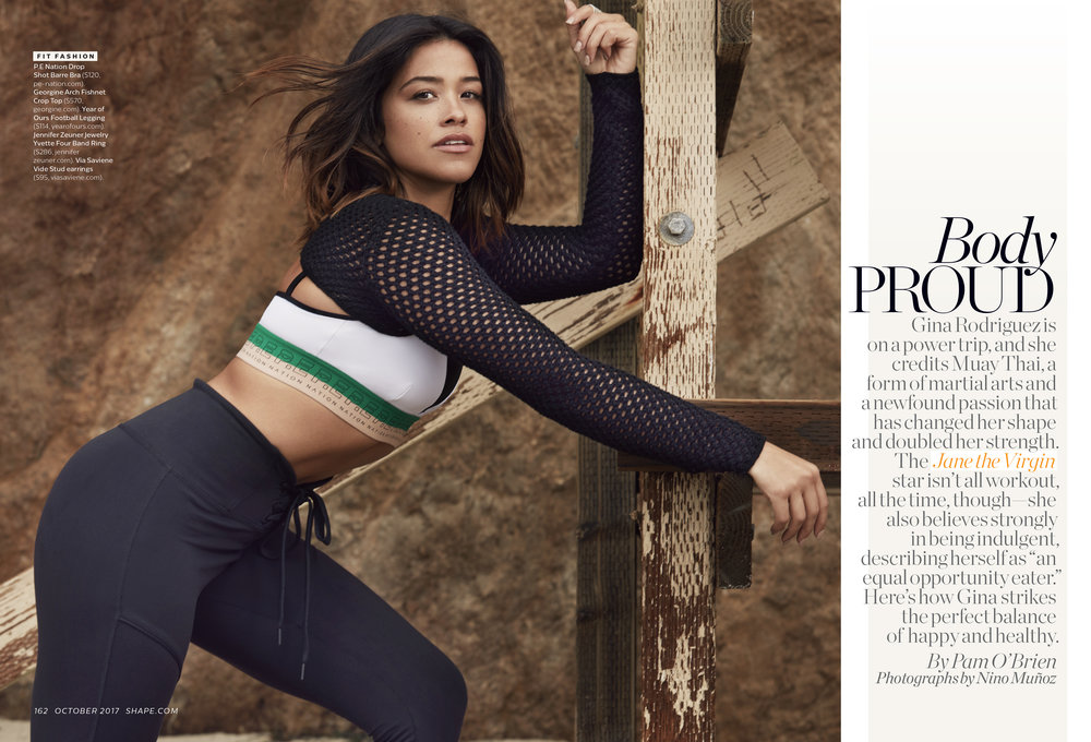 Gina Rodriguez, October 2017