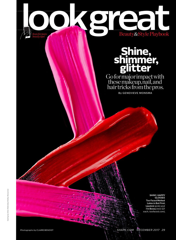 Shine, Shimmer, Glitter; December 2017