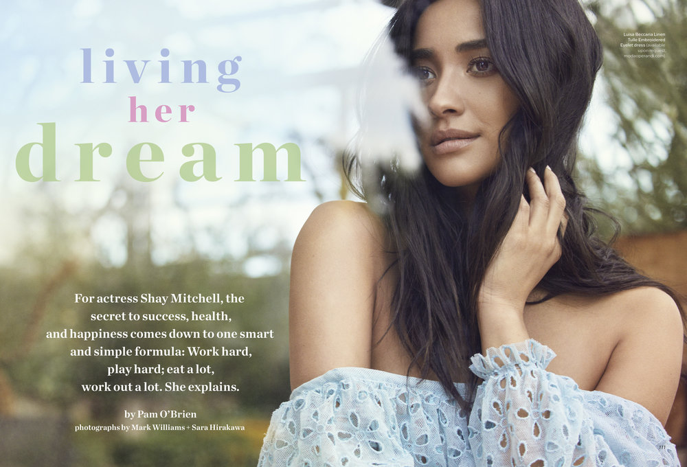 Shay Mitchell, March 2018