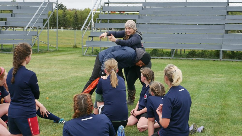 Safety First! - Our coaches have completed training and are certified by International Rugby Board, Rugby Alberta, and Rugby Canada.
