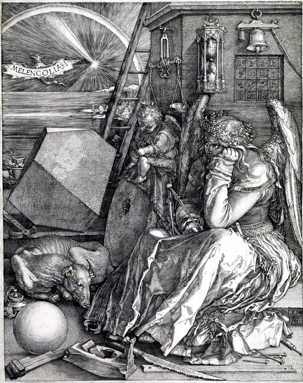 Albrecht Dürer, Melencolia, 1514