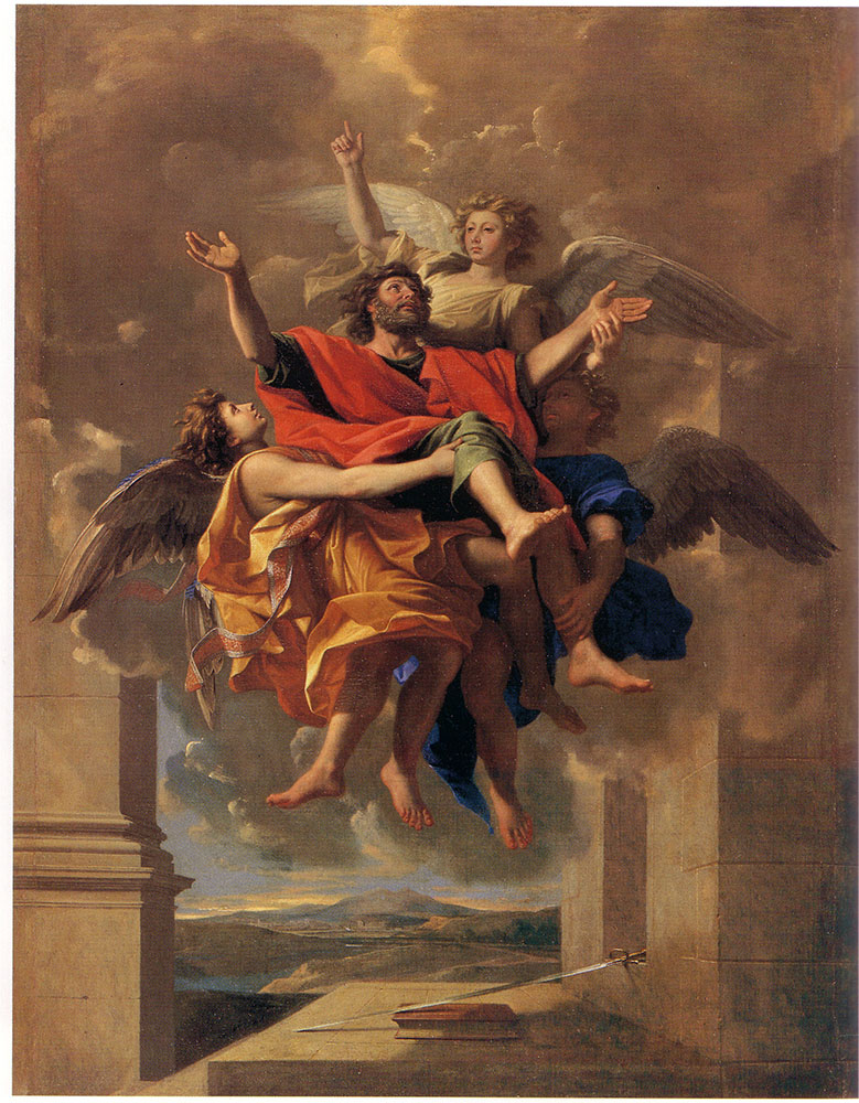 Nicolas Poussin, The ecstasy of Saint Paul, 1649-50, The Louvre Museum, Paris