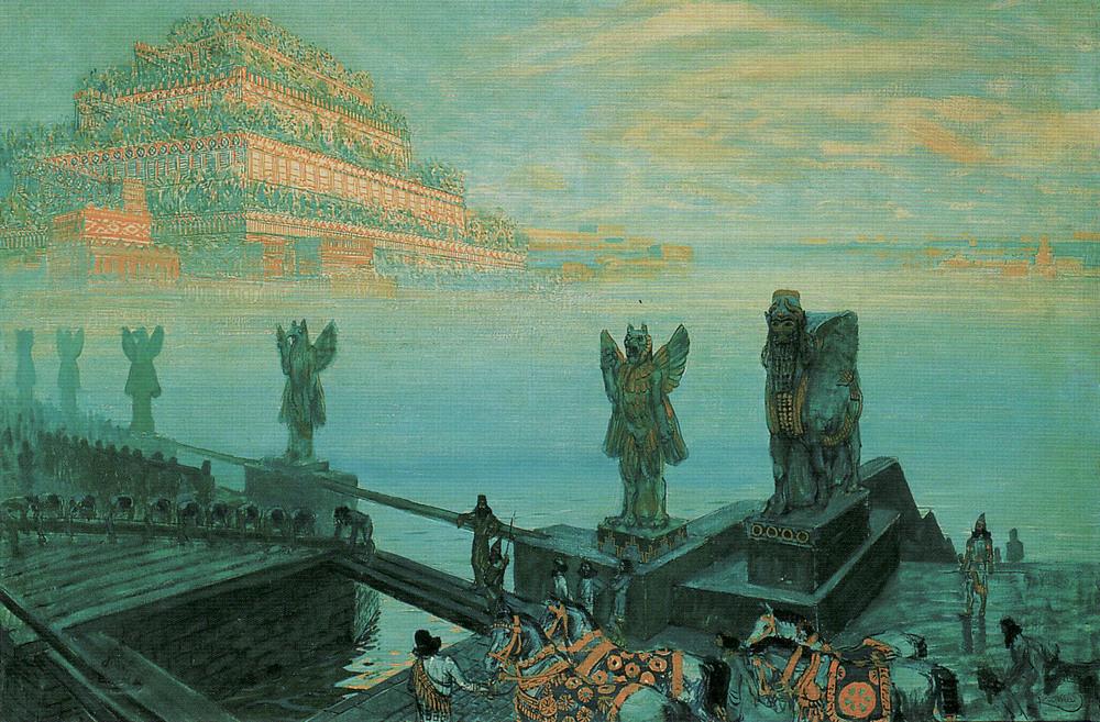 František Kupka, Babylon,1906, Schirn Kunsthalle, Frankfurt, Germany
