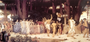 Frederic Leighton.The Daphnephoria, 1876, Lady Lever Art Gallery, UK