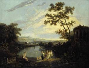 Richard Wilson, Apollo and the Seasons, date unkown, Tate Gallery