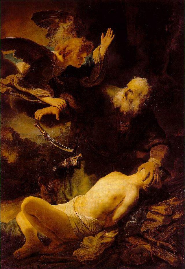 Rembrandt van Rijn, Abraham and Isaac, 1634, Hermitage, St. Petersburg