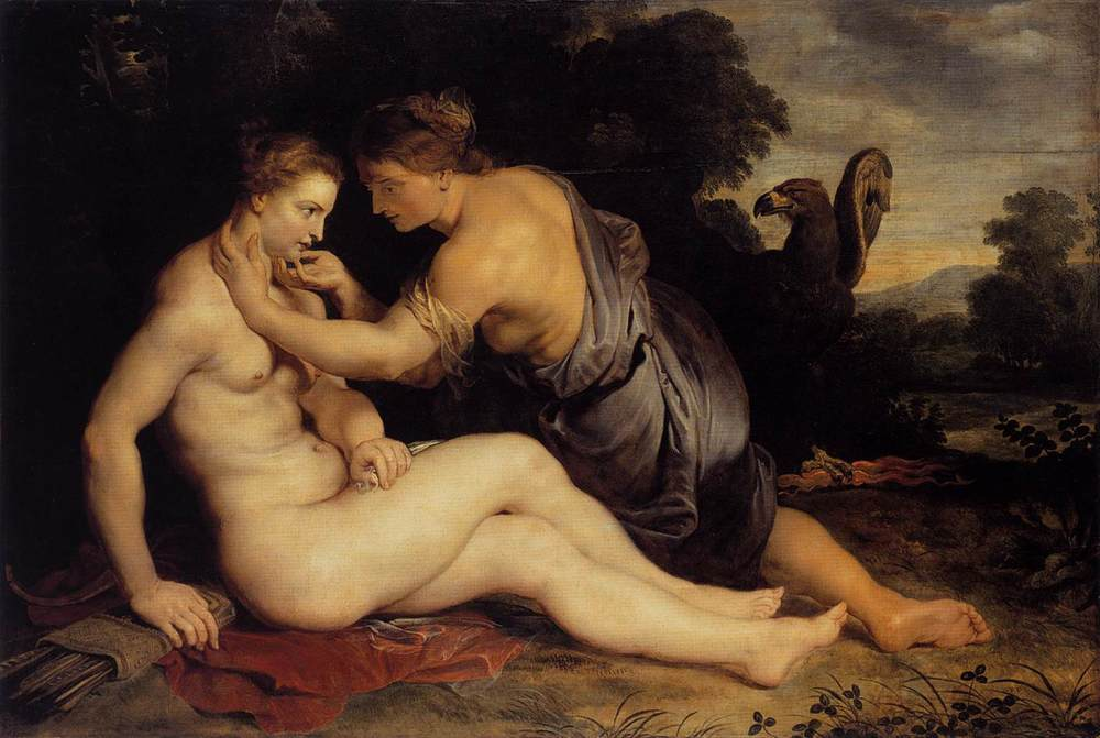 Peter Paul Rubens, Jupiter and Callisto, 1613, Museumslandschaft of Hesse in Kassel