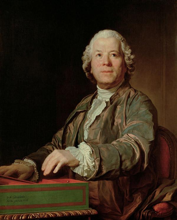 Joseph-Siffrein Duplessis, Portrait of Christoph Willibald von Gluck, 1775, Kunsthistorisches Museum Vienna.