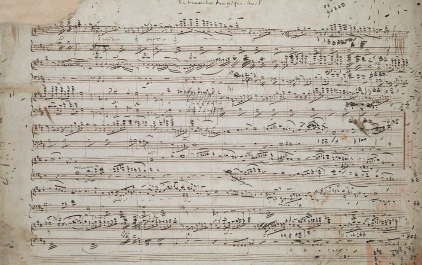 One of Wagner's early scores