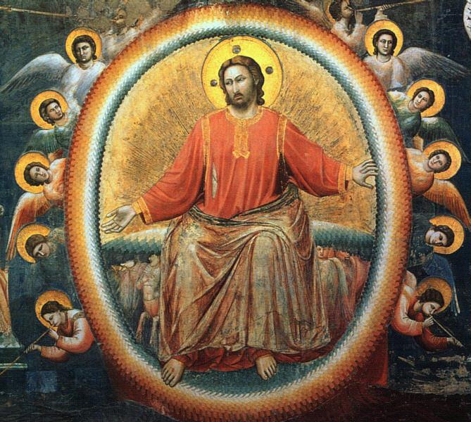Image: Giotto, Last Judgment (detail), 1306, Fresco, Cappella Scrovegni (Arena Chapel), Padua