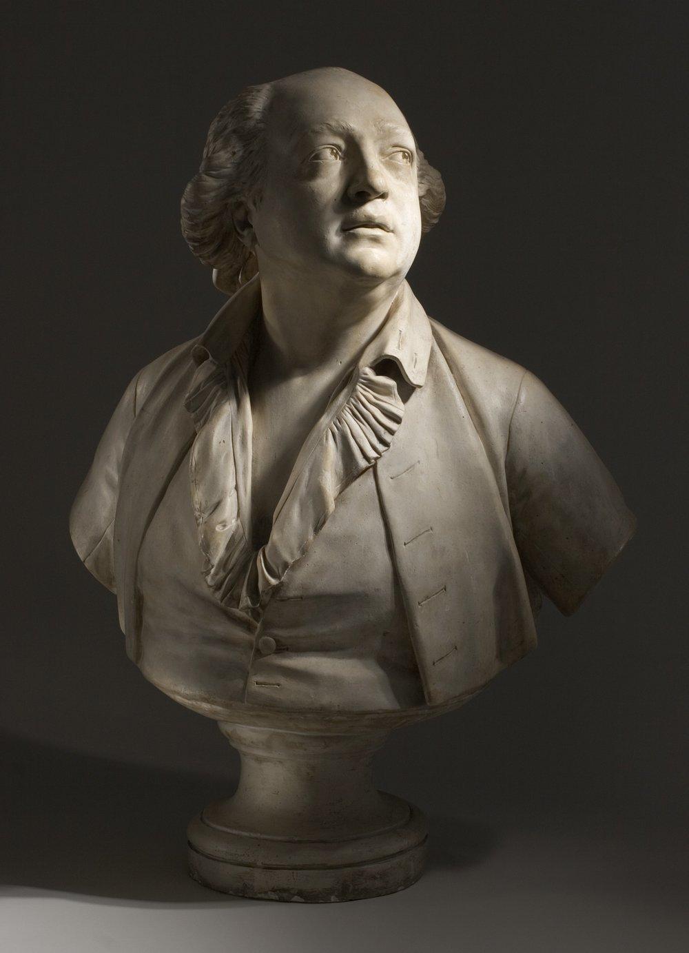 Jean-Antoine Houdon, Portrait of Giuseppe Balsamo (called Count Alessandro Cagliostro), circa 1786, Los Angeles County Museum of Art