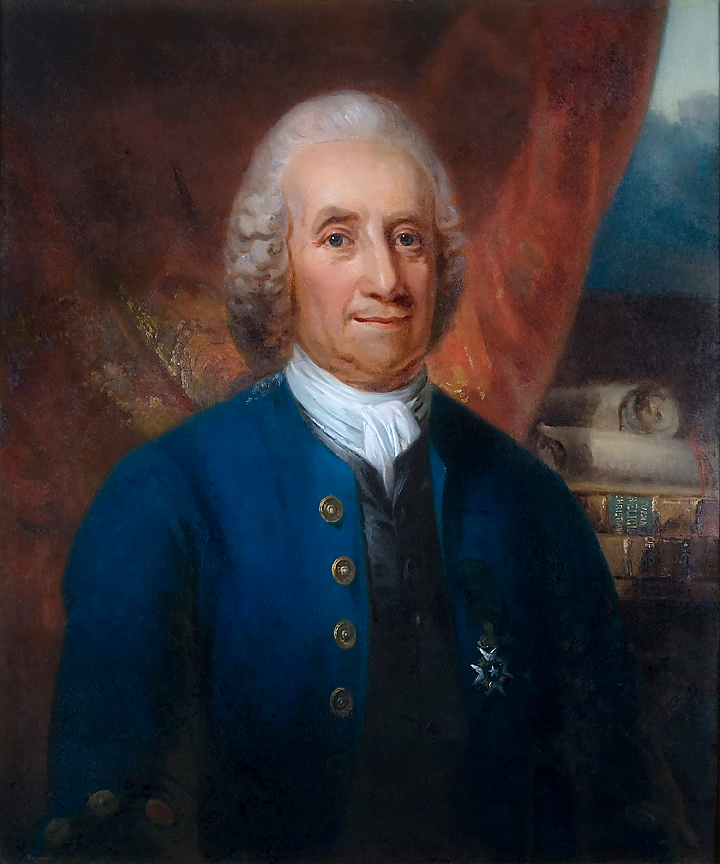 Carl Frederik von Breda, Portrait of Emmanuel Swedenborg, before 1818, Glencairn Museum