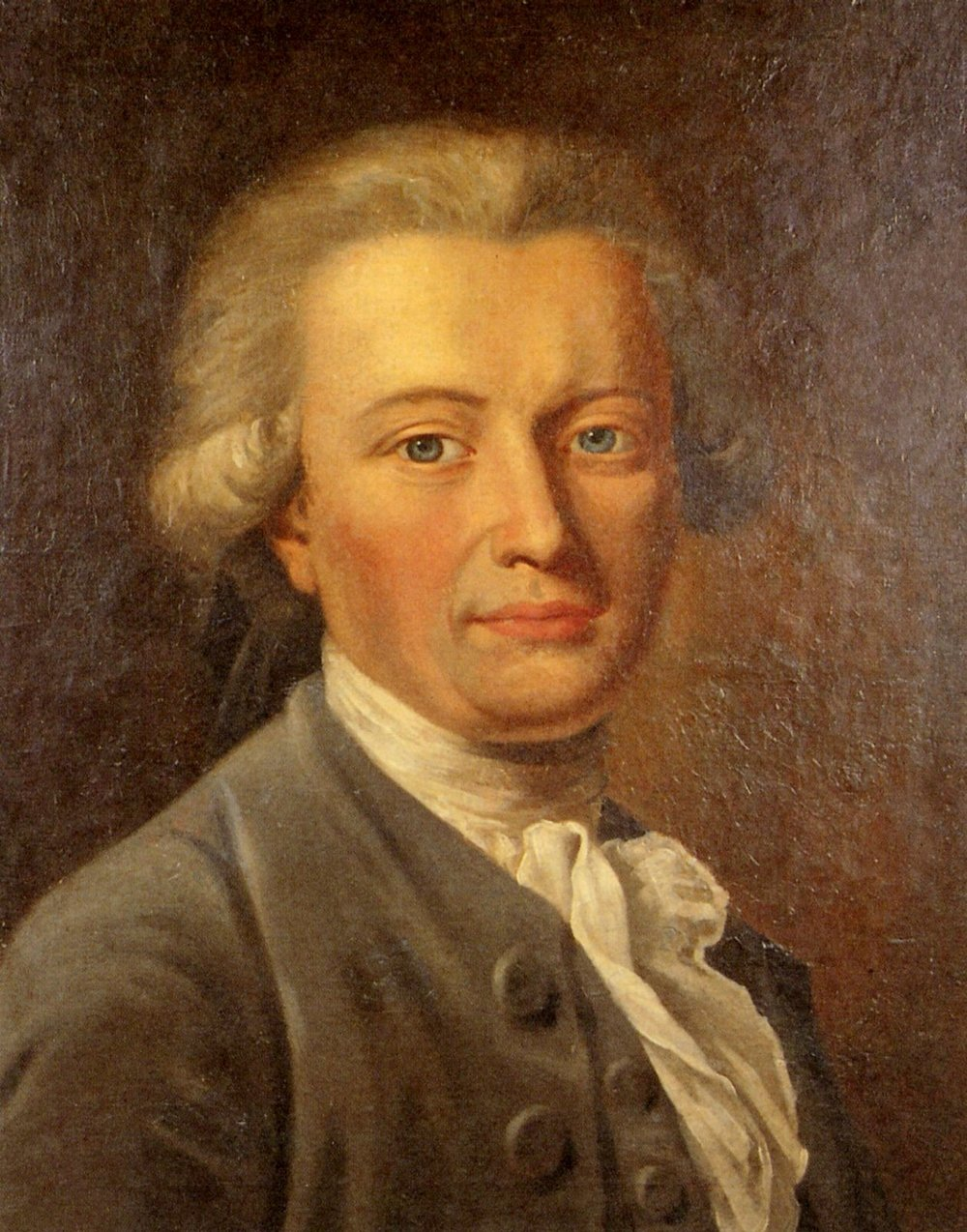 Johann Heinrich Wilhelm Tischbein (also ascribed to Anton Graff), Portrait of Georg Forster (Member of the Gold and Rosy Cross), circa 1785