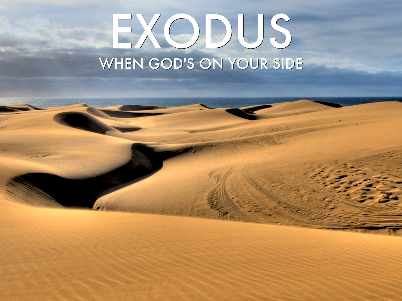 We've started a study on Sunday mornings in the book of Exodus! Come join us at 9:30am.