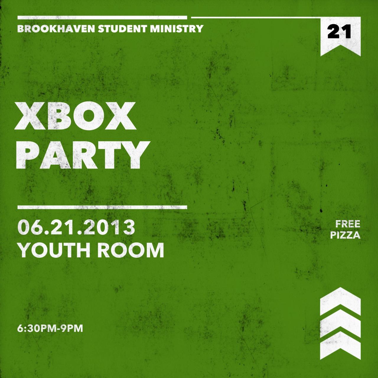 Xbox party Friday night!