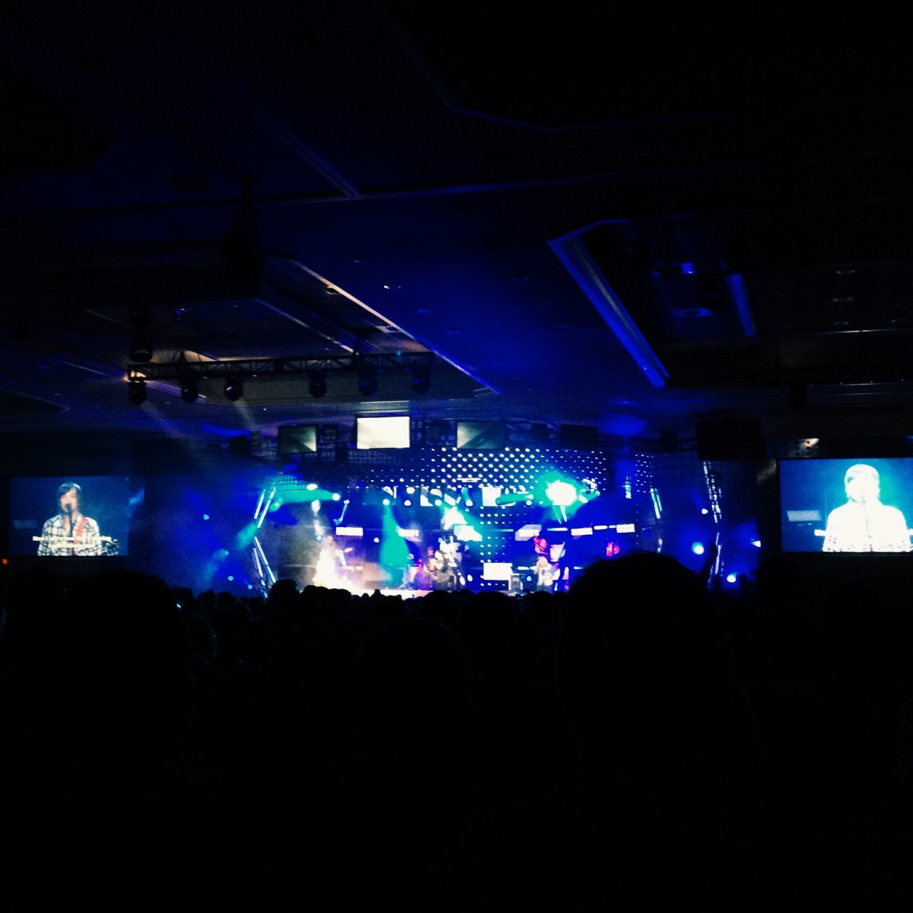 First night of worship from BigStuf!