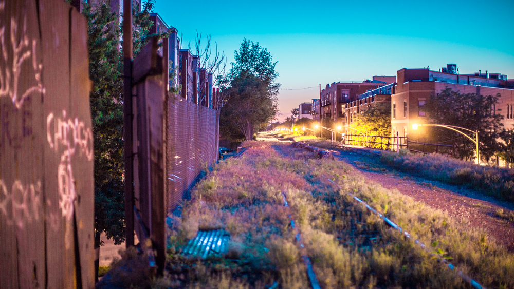 The Bloomingdale Trail as it stood in June of 2013. Photo courtesy of Chad Schurecht.