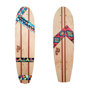 Rio board co. This company builds beautiful handcrafted wooden skateboards.  They have partnered up with Weforest to plant one tree for every skateboard sold.  www.rioboardco.com